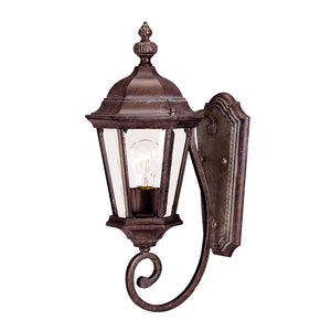 Wakefield 1 Light Outdoor Wall Lantern in Walnut Patina Finish by Savoy House 5-1302-40