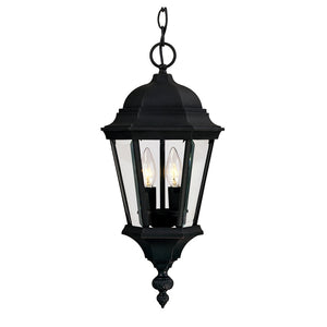 Wakefield 2 Light Outdoor Hanging Lantern in Textured Black Finish by Savoy House 5-1303-BK