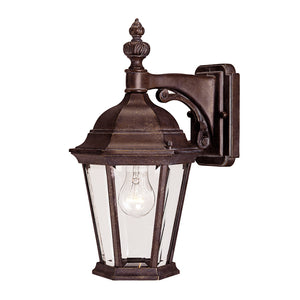 Wakefield 1 Light Outdoor Wall Lantern in Walnut Patina Finish by Savoy House 5-1304-40
