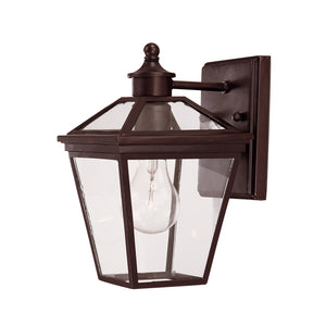 Ellijay 1 Light Outdoor Wall Lantern in English Bronze Finish by Savoy House 5-140-13