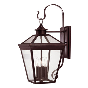 Ellijay 4 Light Outdoor Wall Lantern in English Bronze Finish by Savoy House 5-142-13