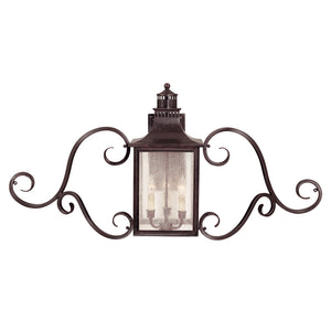 Monte Grande 3 Light Outdoor Wall Lantern in English Bronze Finish by Savoy House 5-253-13
