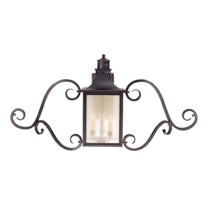 Monte Grande 3 Light Outdoor Wall Lantern in Slate Finish by Savoy House 5-253-25