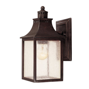 Monte Grande 1 Light Outdoor Wall Lantern in English Bronze Finish by Savoy House 5-254-13