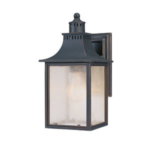 Monte Grande 1 Light Outdoor Wall Lantern in Slate Finish by Savoy House 5-254-25