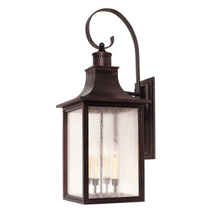 Monte Grande 4 Light Outdoor Wall Lantern in English Bronze Finish by Savoy House 5-257-13