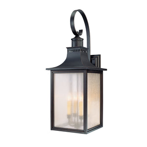 Monte Grande 4 Light Outdoor Wall Lantern in Slate Finish by Savoy House 5-257-25