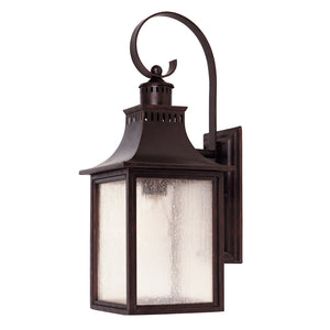 Monte Grande 1 Light Outdoor Wall Lantern in English Bronze Finish by Savoy House 5-258-13