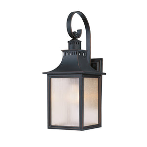 Monte Grande 1 Light Outdoor Wall Lantern in Slate Finish by Savoy House 5-258-25
