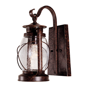 Smith Mountain 1 Light Outdoor Wall Lantern in New Tortoise Shell Finish by Savoy House 5-3410-56