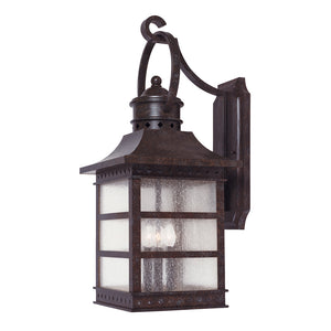 Seafarer 3 Light Outdoor Wall Lantern in Rustic Bronze Finish by Savoy House 5-441-72