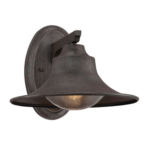 Trent 1 Light Outdoor Wall Lantern in Artisan Rust Finish by Savoy House 5-5071-1-32