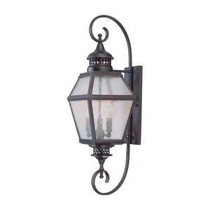 Chiminea 3 Light Outdoor Wall Lantern in English Bronze Finish by Savoy House 5-773-13