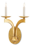 Venus Gold Wall Sconce by Currey and Company 5000-0029