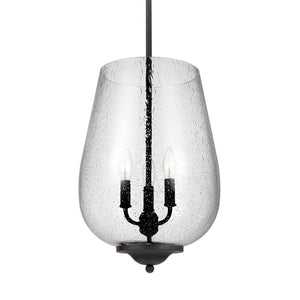 Morill 3 Light Pendant Light in Blacksmith Finish by Sea Gull 5127803-839