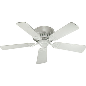 Medallion Ceiling Fan in Studio White Finish 51425-8