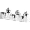 3 Light Vanity in Chrome Finish 518-3-14
