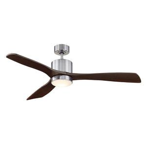 Amherst 1 Light Ceiling Fan  in Brushed Pewter Finish by Savoy House 52-190-3CN-187