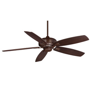 Wind Star  Light Ceiling Fan  in Espresso Finish by Savoy House 52-830-5RV-129