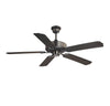 Nomad  Light Ceiling Fan Ceiling Fan in Flat Black Finish by Savoy House 52-EOF-5MB-FB