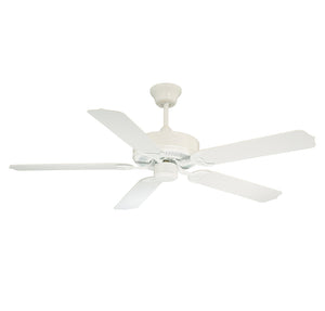 Nomad  Light Ceiling Fan Ceiling Fan in White Finish by Savoy House 52-EOF-5W-WH