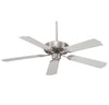 Builder Specialty  Light Ceiling Fan  in Satin Nickel Finish by Savoy House 52-FAN-5W-SN