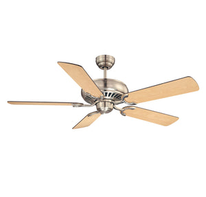 Pine Harbor  Light Ceiling Fan  in Satin Nickel Finish by Savoy House 52-SGC-5RV-SN