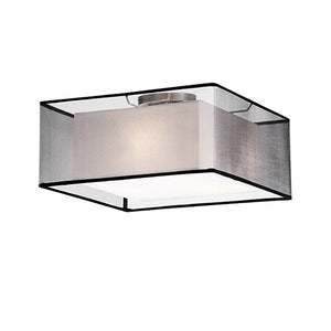 Kuzco 52323B Three Lamp Ceiling with Square Shade