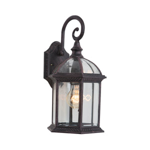 Anita Collection 1 Light Exterior Wall Light in Venetian Bronze by Yosemite Home Décor 5271VB