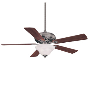 Peachtree 3 Light Ceiling Fan  in Brushed Pewter Finish by Savoy House 52P-614-5WA-187