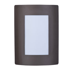 Maxim Lighting 54332WTBZ View LED 1-Light Wall Sconce in Bronze Finish
