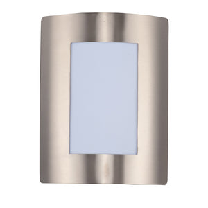 Maxim Lighting 54332WTSST View LED 1-Light Wall Sconce in Stainless Steel Finish