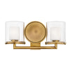 Rixon Bath Bath Vanity by Hinkley 5492HB Heritage Brass