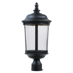 Maxim Lighting 55021CDBZ Dover LED Outdoor Post Lantern in Bronze Finish