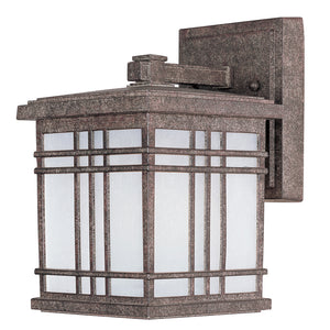 Maxim Lighting 55692FSET Sienna LED 1-Light Mini Outdoor Wall in Earth Tone Finish