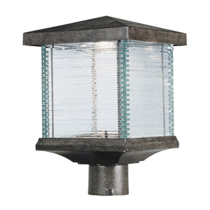 Maxim Lighting 55735CLET Triumph VX LED Outdoor Post Lantern in Earth Tone Finish