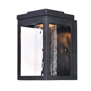 Maxim Lighting 55902WGBK Salon LED 1-Light Outdoor Wall in Black Finish