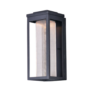 Maxim Lighting 55904MSCBK Salon LED 1-Light Outdoor Wall in Black Finish