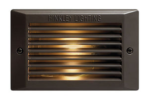 Line Voltage Deck Led Landscape Deck And Patio by Hinkley 58015BZ-LED Bronze