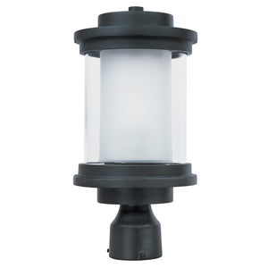 Maxim Lighting 5860CLFTAR Lighthouse 1-Light Outdoor Post in Anthracite Finish