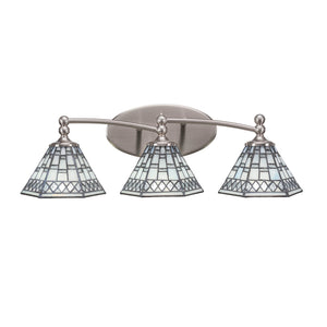 Toltec 593-BN-9105 Bathroom Lighting in Dark Granite Finish