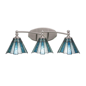 Toltec 593-BN-9325 Bathroom Lighting in Dark Granite Finish