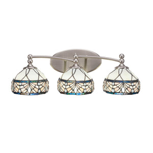 Toltec 593-BN-9485 Bathroom Lighting in Dark Granite Finish