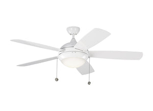"Discus Outdoor Fan 52"" White Outdoor Ceiling Fan by Monte Carlo Fans 5DIW52WHD"