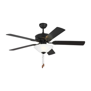 "Haven Led 2 52"" Matte Black Indoor Ceiling Fan by Monte Carlo Fans 5HV52BKD"