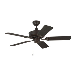 "Haven Outdoor 44"" Bronze Outdoor Ceiling Fan by Monte Carlo Fans 5HVO44BZ"