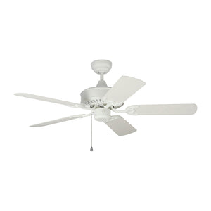 "Haven Outdoor 44"" Matte White Outdoor Ceiling Fan by Monte Carlo Fans 5HVO44RZW"