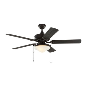 "Haven Outdoor Led 52"" Bronze Outdoor Ceiling Fan by Monte Carlo Fans 5HVO52BZD"