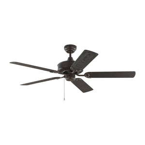 "Haven Outdoor 52"" Bronze Outdoor Ceiling Fan by Monte Carlo Fans 5HVO52BZ"