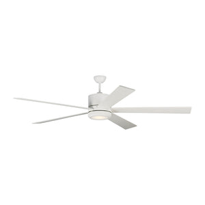 "Vision 72"" Matte White Indoor Ceiling Fan by Monte Carlo Fans 5VMR72RZWD"